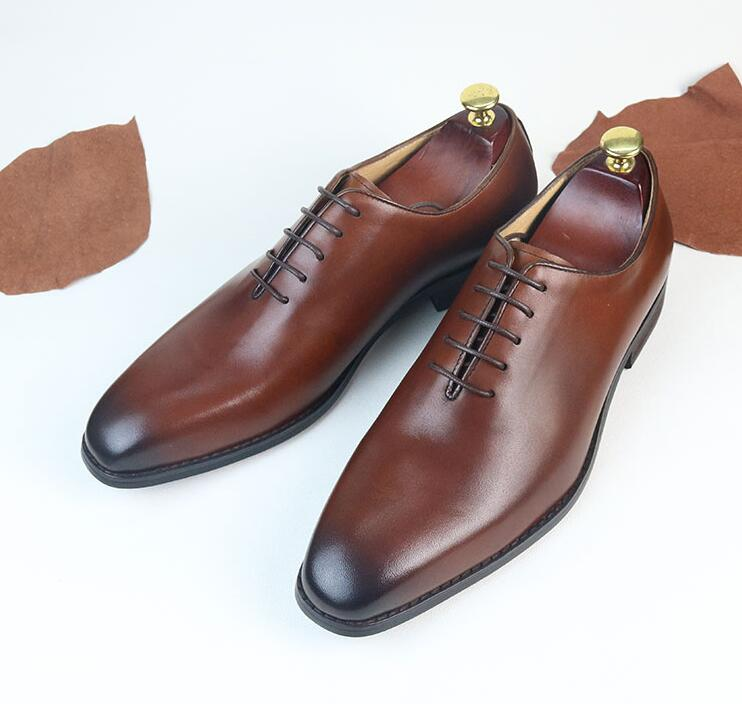 Handmade Goodyear Square head spring men s shoes suit wedding groom Oxford  shoes leather business dress shoes-in Formal Shoes from Shoes on  Aliexpress.com ... 112fa279b63f
