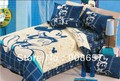 Azul beige mickey mouse personaje camas twin completa queen king size edredón de algodón edredón del duvet cubre cama en una bolsa de hojas establecidas