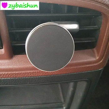 Magnetic Car Phone Holder Smartphone Car GPS Seat for Peugeot 206 207 208 301 307 308 407 2008 3008 4008 image