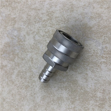 Stainless Steel Quick Disconnect  Female QD-1/2 Hose Barb Homebrew Fitting