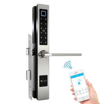 Smart Bluetooth TTLock App Fingerprint Door Lock for Aluminum Swing Door - DISCOUNT ITEM  42 OFF Security & Protection