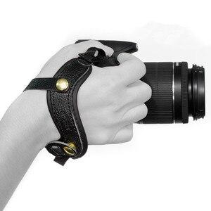 Image 5 - עור מצלמה רצועת יד גריפ יד עבור ניקון P1000 P900 P610 D4 D3 D610 D600 D500 D750 D700 D850 D810 d800 D300S D7000 D5000
