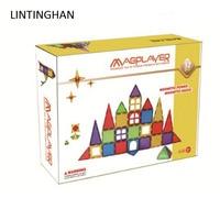 Color window magnetic color box set magnetic assembly puzzle children building blocks construction piece light transparent toys