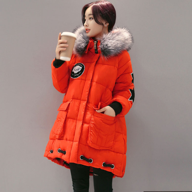 Aliexpress.com : Buy Fashion Korean Girls Outerwear Long Winter ...