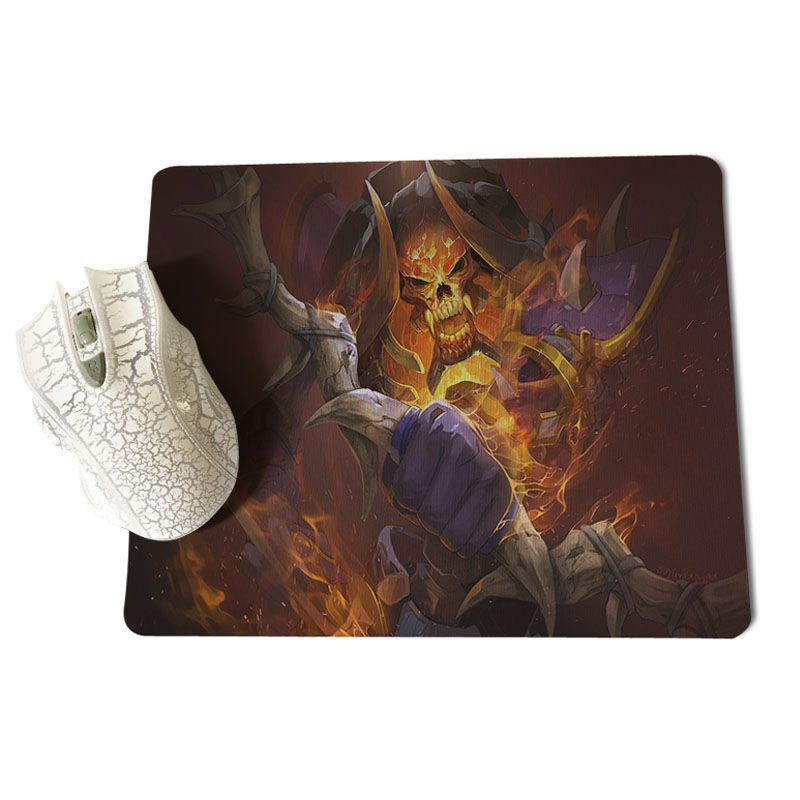 MaiYaCa Night Stalker Gamer Speed Mice Retail Small Rubber Mousepad Size for 18x22x0.2cm Gaming Mousepads
