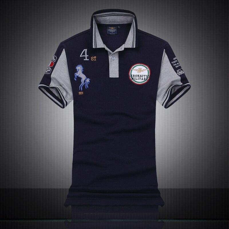 Famous Italy Brand Clothing Fashion Polo Homme Aeronautica Militare