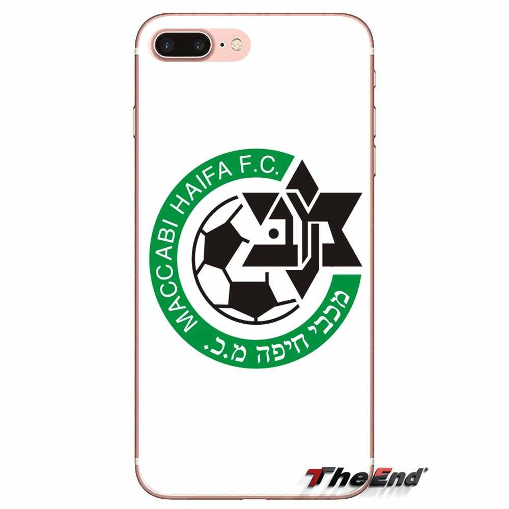 Для Xiao mi 6 mi 6 A1 Max mi x 2 5X 6X Red mi Note 5 5A 4X 4A A4 4 3 Plus Pro TPU чехол для футбольного клуба Maccabi Haifa