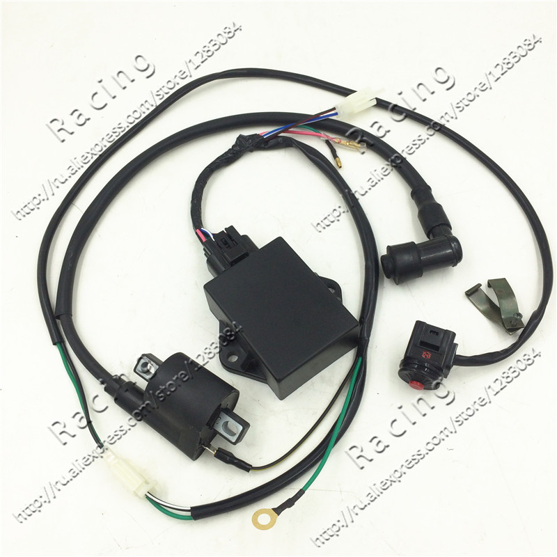 Complete Wire Wiring Harness Loom W150cc ZS155cc PIT PRO Trail Dirt Bike