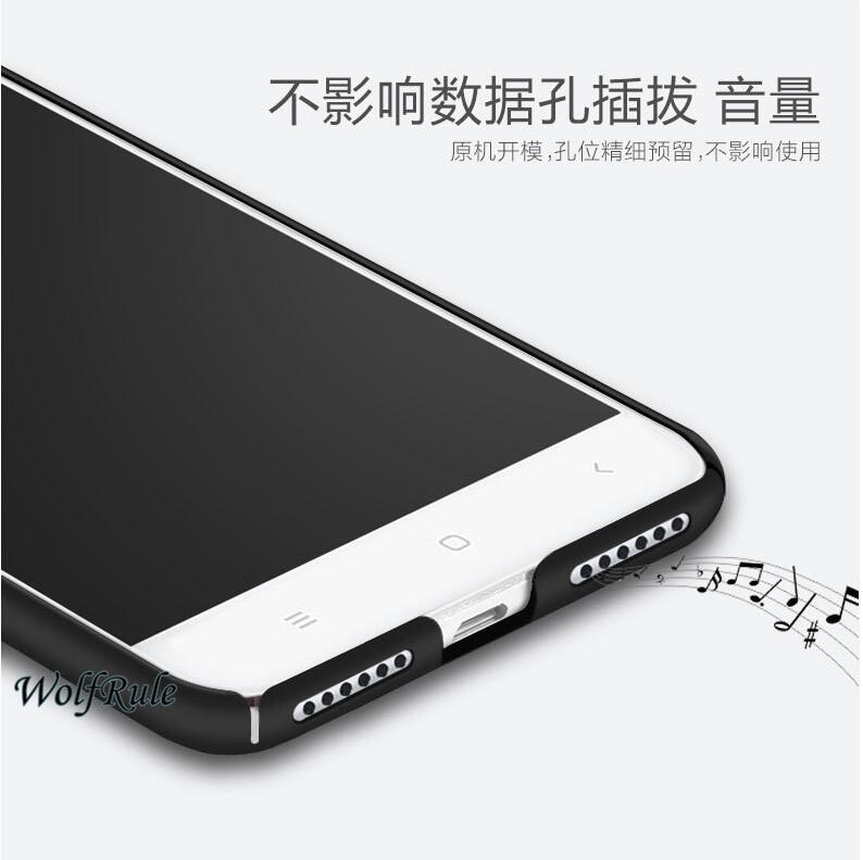 För telefonväska Xiaomi Mi6 fodral Anti Knock Smooth Slim PC - Reservdelar och tillbehör för mobiltelefoner - Foto 5