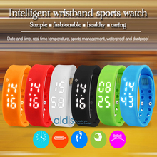 addies New Digital Wristwatch Ladies Health Women Sport Smart Water Resistant  Temperature Measurement Fitness Tracker watch