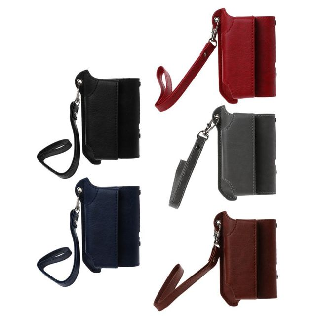 2 in 1 Protective Case Cover Sleeve Holder Carrying Storage Box Lanyard Portable for  2.4 PLUS Electronic Cigaret hyq
