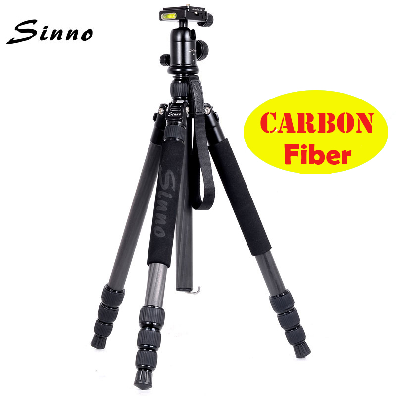 Carbon Fiber Tripod Sinno M3425 SLR Camera Professional Photographic Portable Tripod For Travel DSLR Camera better than z688 new sinno a 2322 professional aluminum tripod portable tripod head slr kit only 1 18kg max load 10kg free shipping wholesale