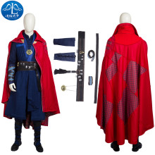 2017 Cosplay Costume Doctor Strange Roleplay Men's T-shirt Cosplay Free Shipping Custom Made Full Suit  цена и фото