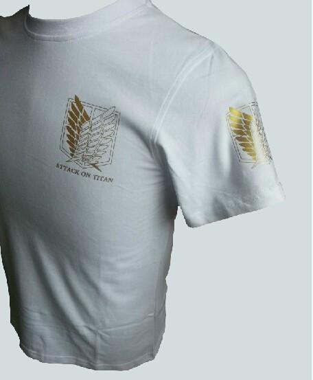 Attack on Titan Golden symbol T-Shirts
