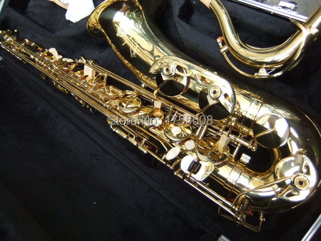New Copy France Cnbald Reference 36 tenor saxophone gold golden100714 free shipping new high quality tenor saxophone france r54 b flat black gold nickel professional musical instruments
