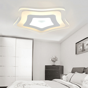 Slim star acrylic LED ceiling lamps living room bedroom study lamp commercial office space Ceiling lights AC110-240V