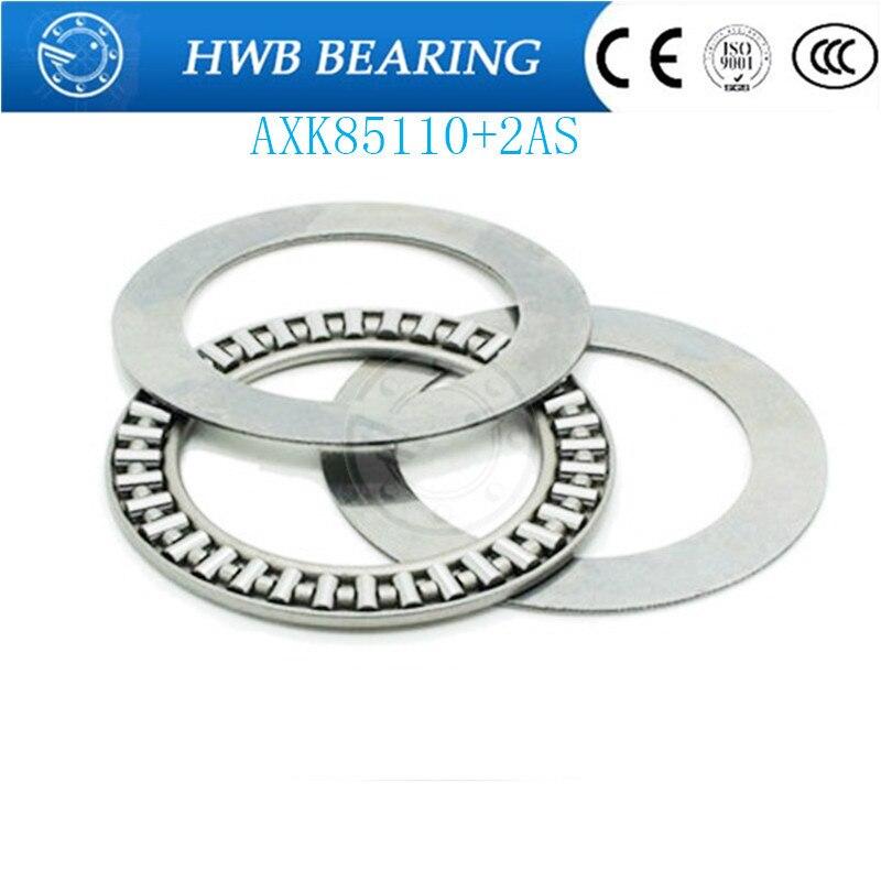 Free Shipping 1 PCS  AXK85110+2AS 889117 Thrust Needle Roller Bearing  Thrust Bearings