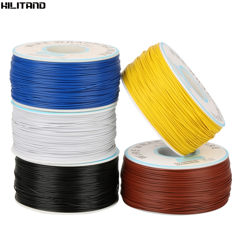 1Roll Wire Wrapping Single Copper Wire Strand 30AWG Cable 0.25mm ...