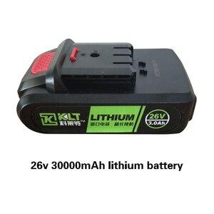 Image 1 - 26V 3000mAh wymiana baterii dla elektronarzędzie elektryczny elektryczny klucz udarowy nit pistolet elektryczny śrubokręt/wiertarka elektryczna młot