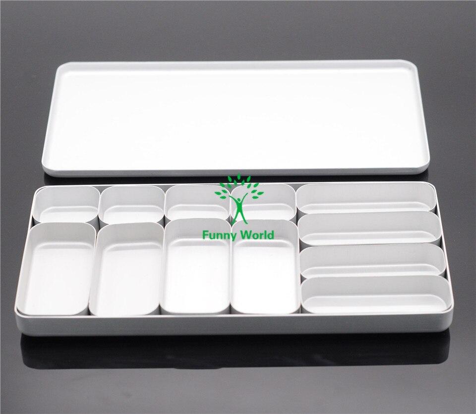 ФОТО New Arrival Dental Clinic Bur H/K File Holder Block Sterilizer Case Disinfection Endo Box Set
