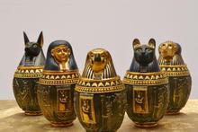 Egyptian house kanuo pic jar home furnishings ornaments home furnishings secret room escape decoration ornaments storage tank