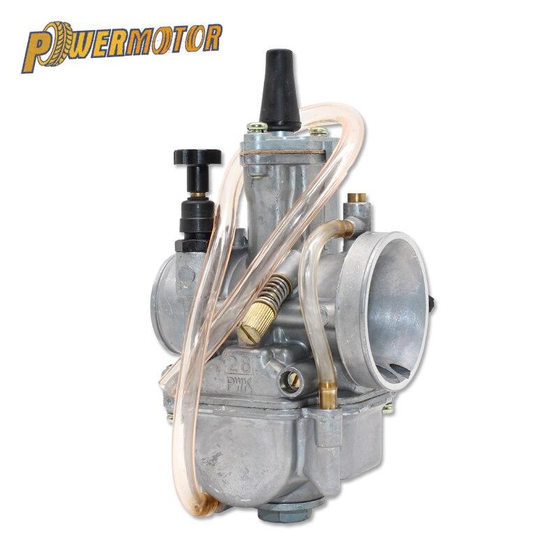 10Pcs Golden Float Converter Nozzles Of Carburetor Durable for PWK Keihin WE1