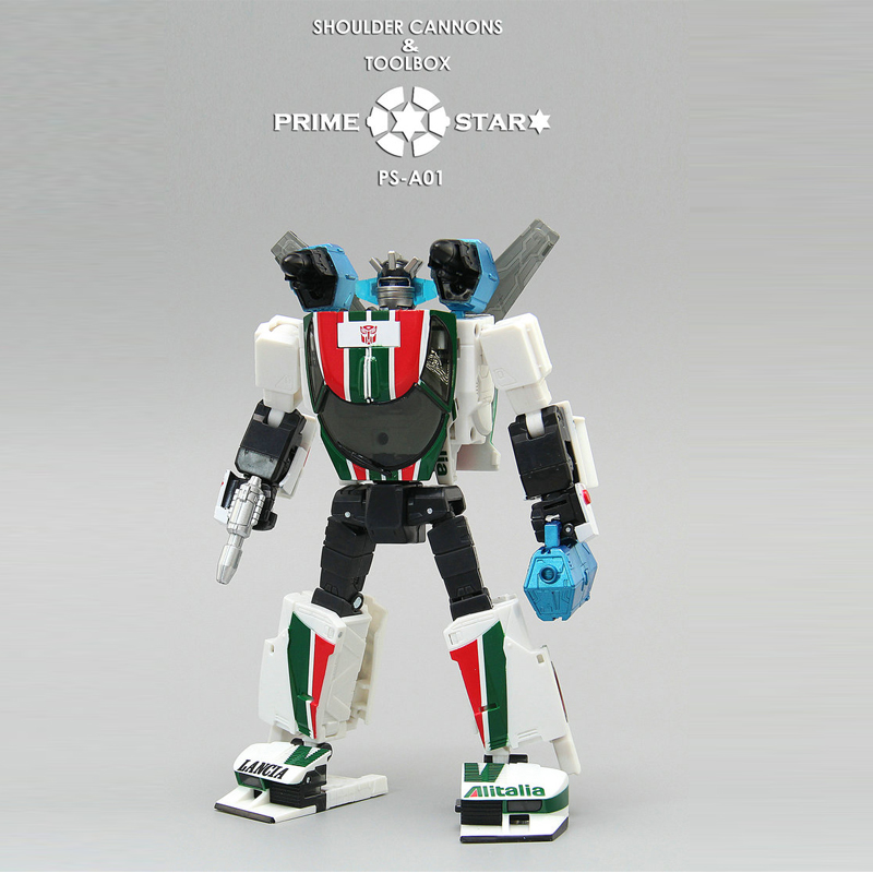 (IN STOCK) TOY TakaraTomy Masterpiece MP20 Wheeljack Version : 3C HK JP PRIME STAR PS-A01 Accessories Package Suitcase