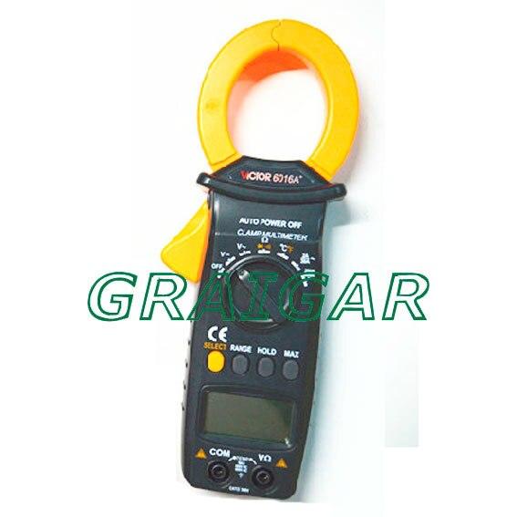 VICTOR 6016A+ Digital Clamp Meter victor 6056d digital clamp meter