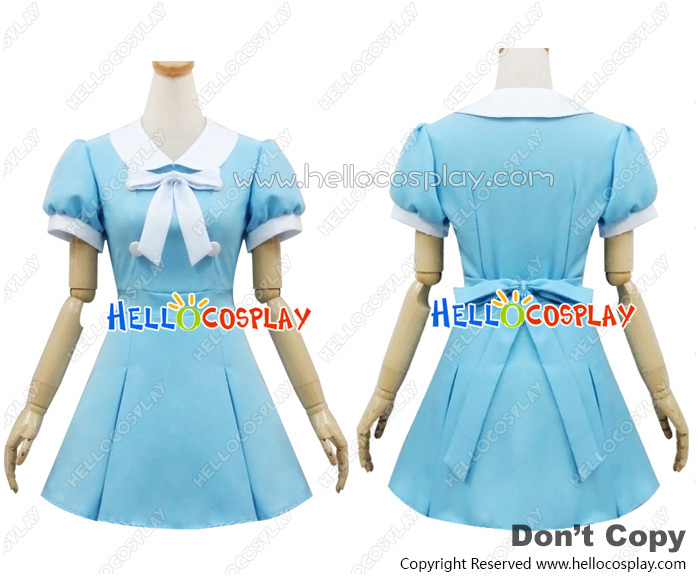 Angel Feather Cosplay K On Movie Costume Dress H008