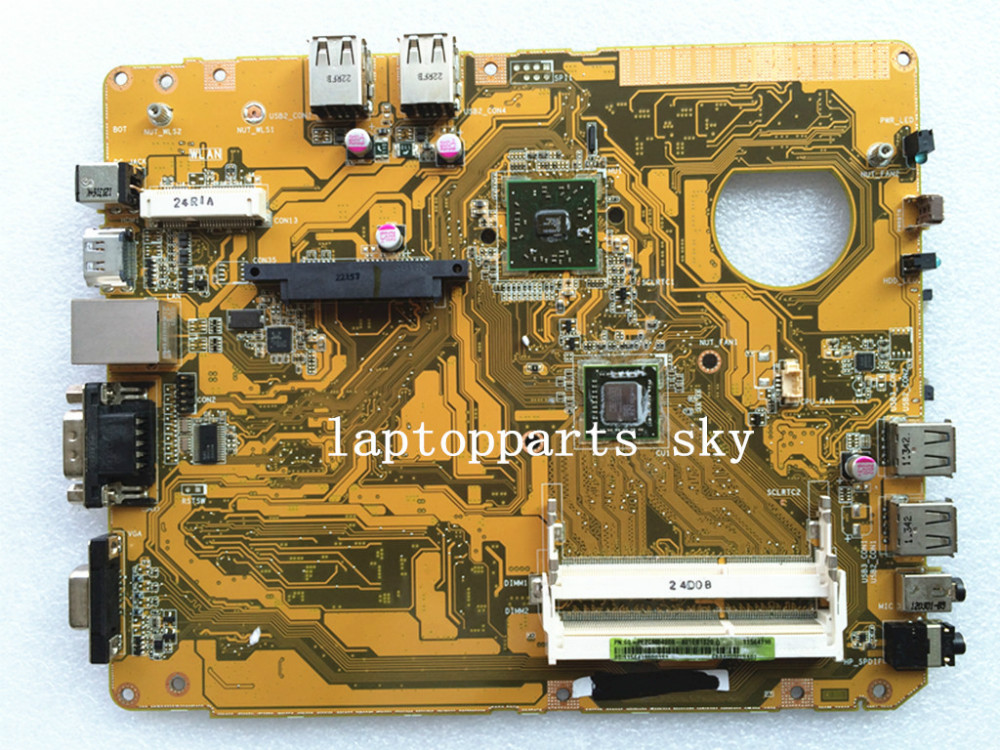 ФОТО For ASUS desktop motherboard EB1021 mainboard REV:1.2G with CPU 60-PE2CMB4000-A01 fully tested works good and free shipping