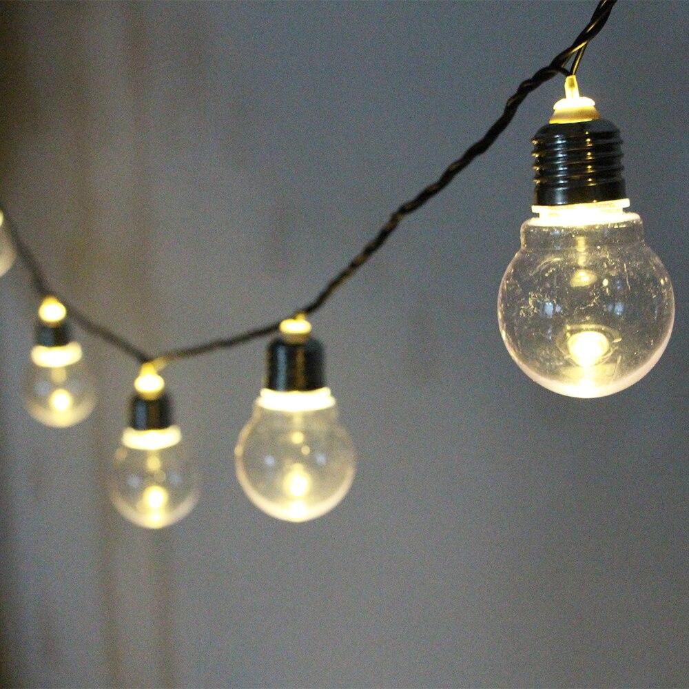 connectable festoon led globe led wedding fairy string light 20 led bulb christmas light fairy. Black Bedroom Furniture Sets. Home Design Ideas