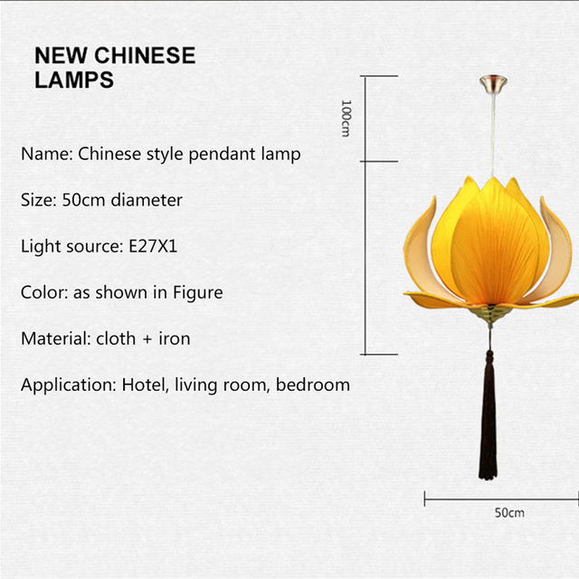 Modern E27 led bulb Lotus Shape Chandelier Pendant Ceiling Lamp Shade Hanging Light Lampshade DIY Home Living Room Bedroom Decor