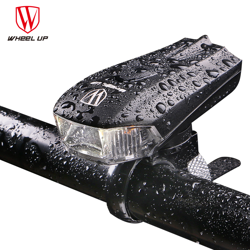 Wheelup Bicycle Light Waterproof Head Front Light USB Rechargeable LED Light