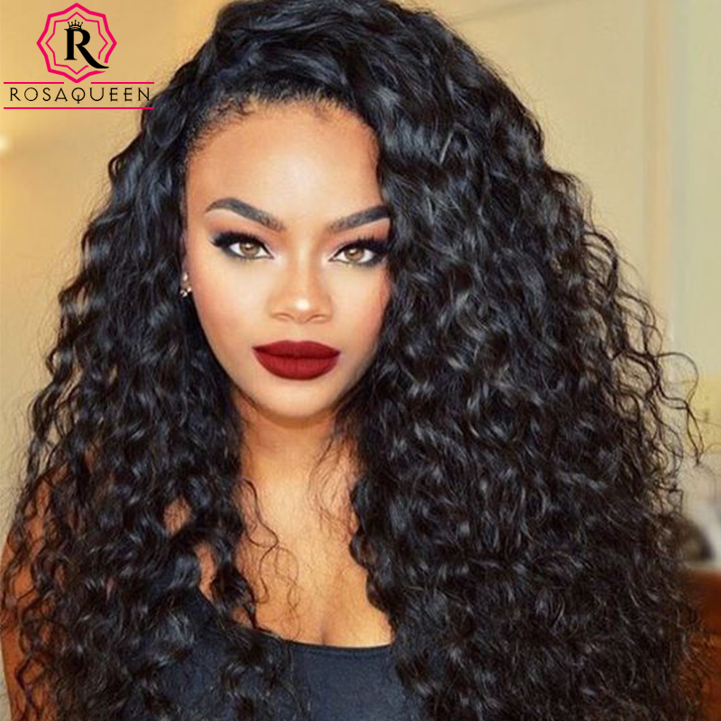 360 Lace Frontal With Bundle 7A Indian Curly Weave Human Hair Deep Wave With Closure 4 Pcs 360 Lace Frontal Closure With Bundles