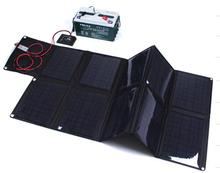 100W folding solar panel solar battery charger for car/boat/caravan/golf cart