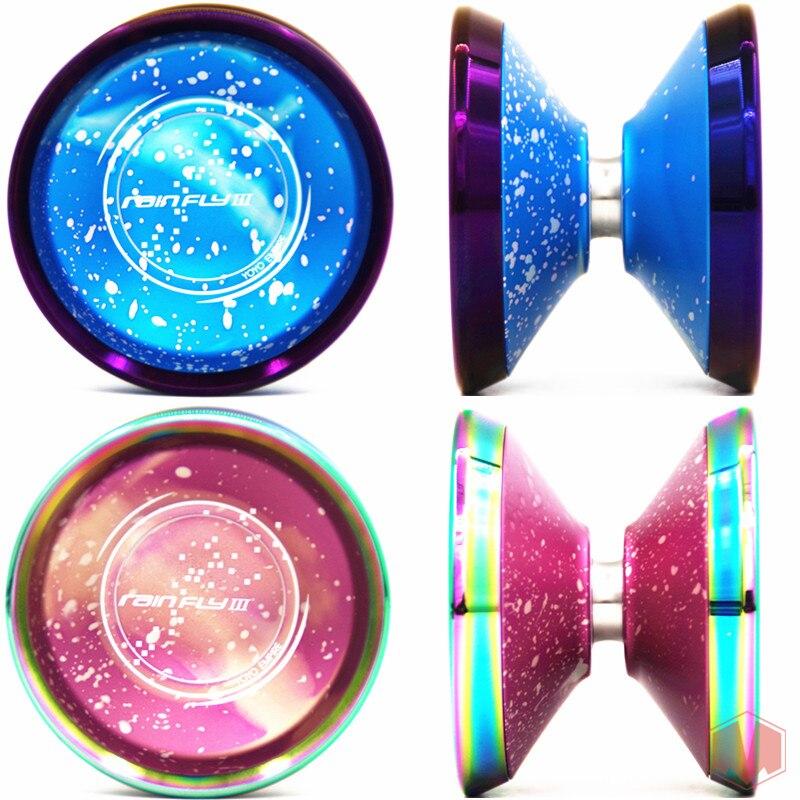 2019 새로운 도착 yoyoempire rainfly3 yoyo for professional yoyo 다채로운 반지 yo yo 7075 금속 요요-에서요요부터 완구 & 취미 의  그룹 2