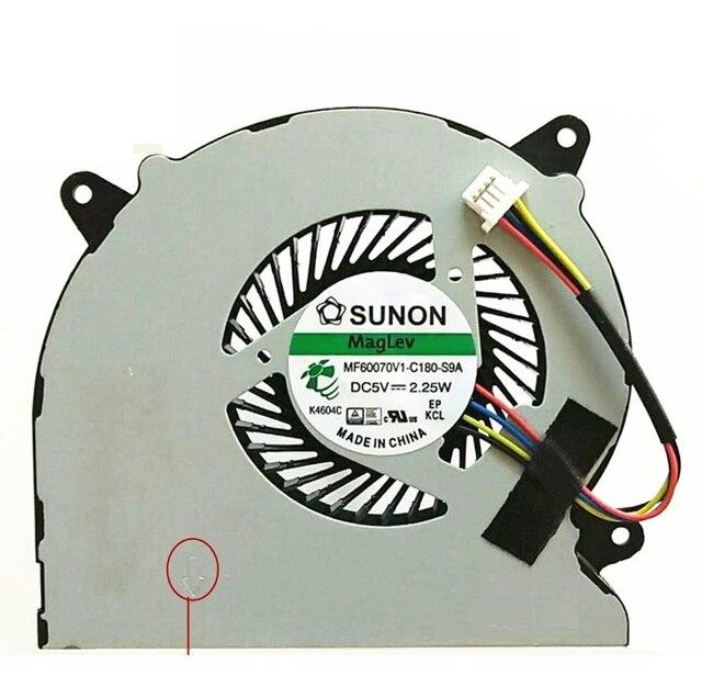 SSEA Фирменная Новинка Процессор вентилятор для ASUS n550 n550j N750 N750JK N750JV G550JK ноутбука Процессор Вентилятор охлаждения MF60070V1-C180-S9A