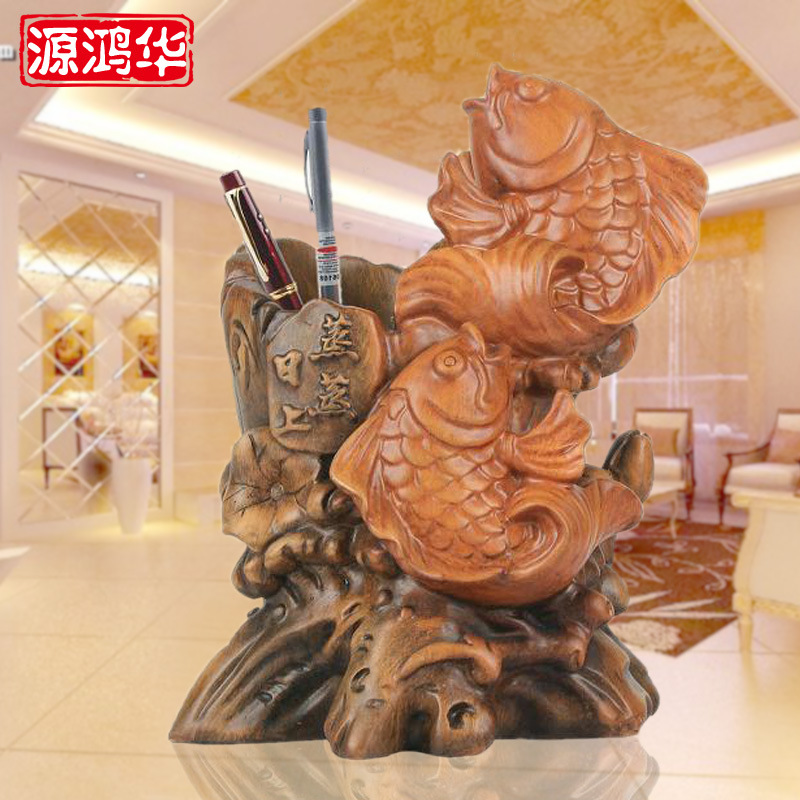 home decoration accessories The fish decoration company opened on the upgrade of business gifts living room shop resin crafts