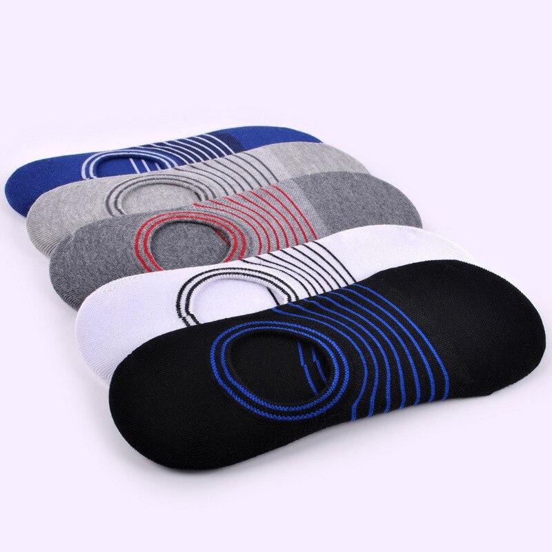 5 Pairs/lot Underwear & Sleepwears Mens Socks Hot-sell Socks Invisible Man Cotton Socks Slippers Shallow Mouth Sock
