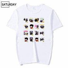 Men Classic Japanese Anime Mazinger Z Fashion T-shirt Summer Unisex Casual Short O-Neck White Hipster Mens Streetwear