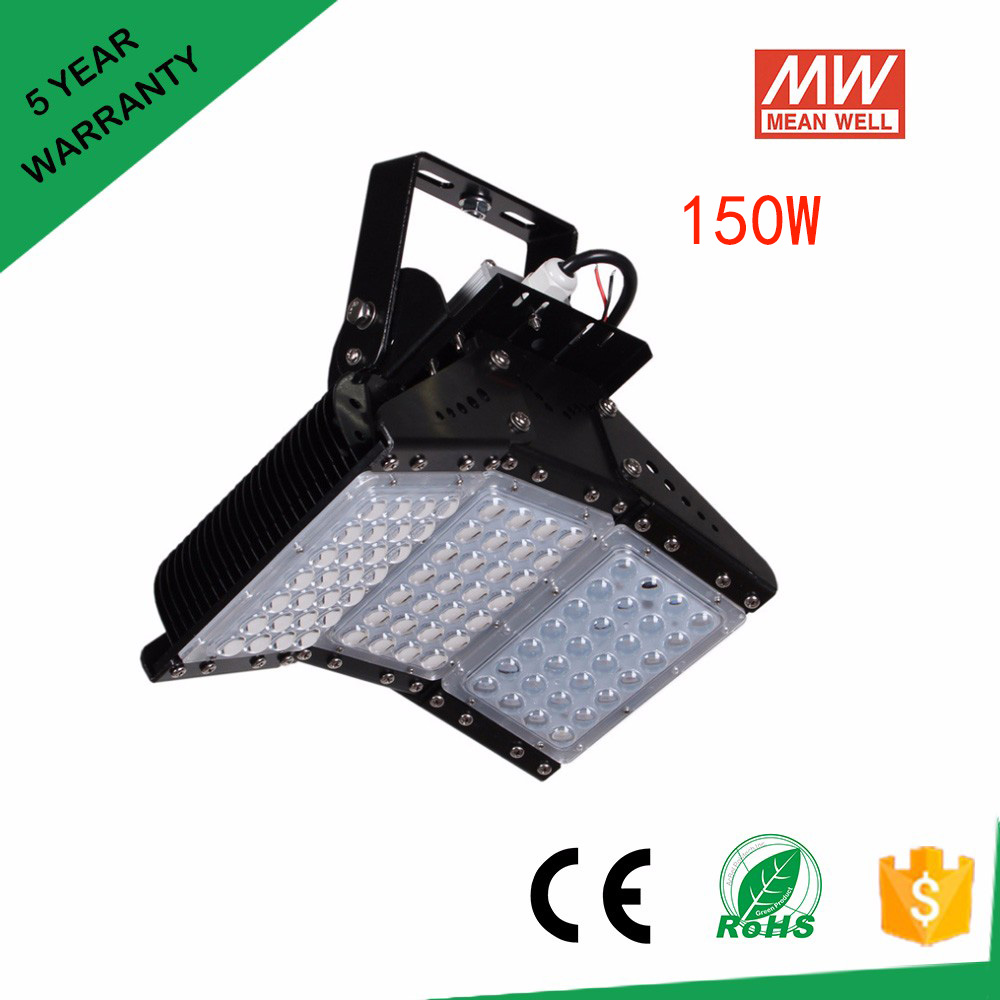 56w 112w 168w 224w 336w 500w Led Floodlights Ip65 120 Degree Adjustable Led Tunnel Light 85-277v Meanwell Driver Free Shipping led flood light ac85 265v waterproof ip65 led floodlight garden spotlight outdoor lamp 56w 112w 168w 224w 336w 500w