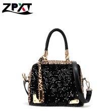 2017 neue Marke Frauen Messenger Bags Fashion Designer Marke Leopard Umhängetasche Frauen Crossbody Handtaschen Großhandel