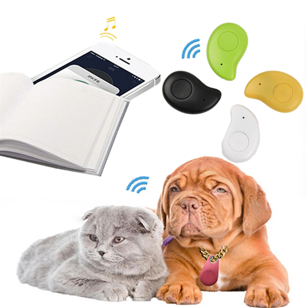 New Pets Anti-Lost GPS Tracker Waterproof Bluetooth Remote Tracer For Pet Dog Cat Keys Wallet Bag Kids Trackers Finder Equipment