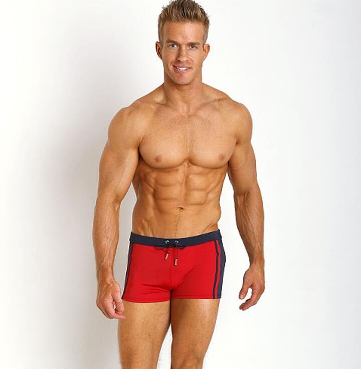 Frete grátis personalizado Privado BOYTHOR terno baixo-cintura dos homens boxer natação tronco sexy tight-fitting esportes rápida -secagem