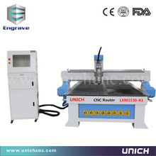 2017 Newest type    1500*3000mm European quality Professional  3d cnc router