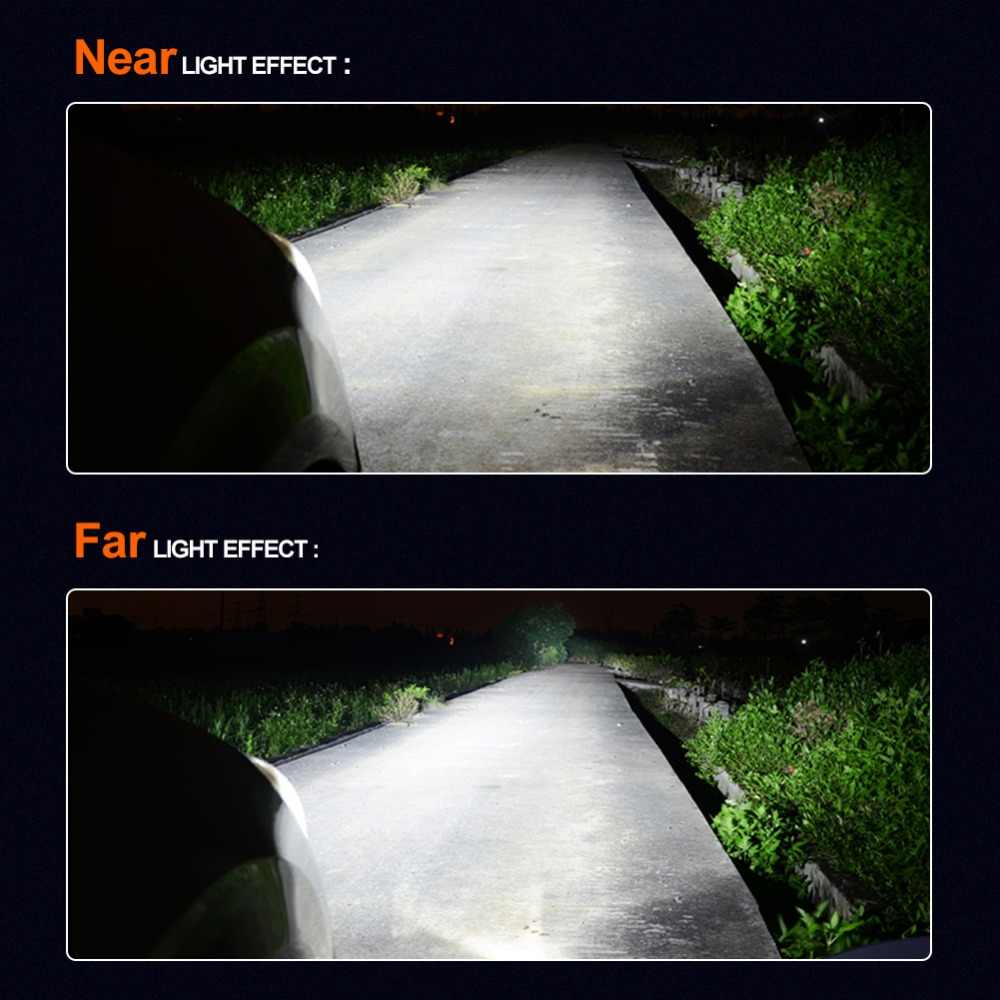 Aceersun H4 LED H7 12V COB 5000LM DOB 8000LM LED Car Headlight Bulb Fanless Fog Light 4300K 6500K H1 H3 H11 9005 9006 HB3 HB4 H8