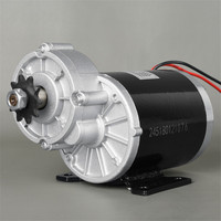 450W 24V 36V 48V Brush Gear DC Motor For Light Electric Tricycle Bicycles E bike Conversion Kit Bicycle Engine UNITEMOTOR