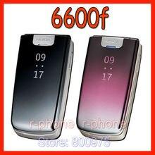 オリジナルノキア 6600f 6600 フォールドの携帯携帯電話 2 グラム 3 グラムロック解除携帯電話