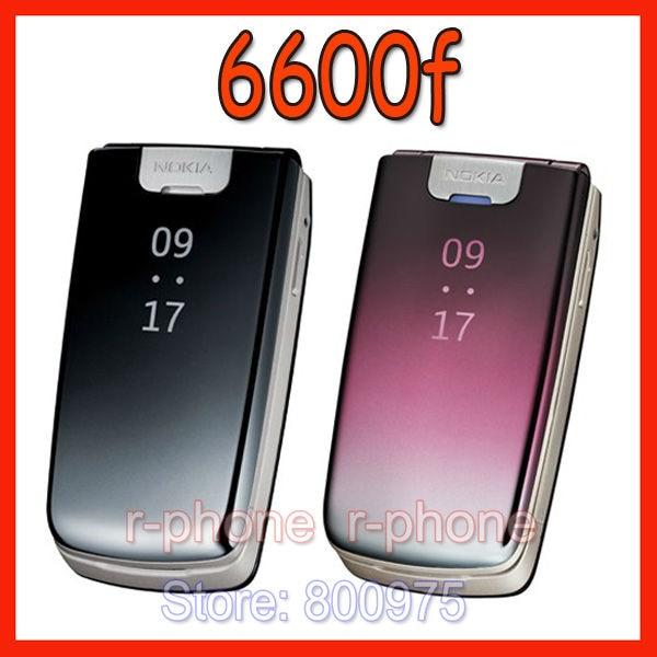 Оригинальный Nokia 6600f 6600 складной мобильный телефон 2G 3G разблокированный мобильный телефон