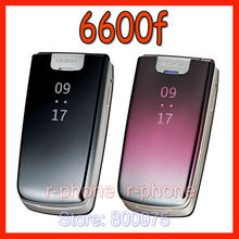 Oryginalny telefon komórkowy Nokia 6600f 6600 Fold 2G 3G Unlocked